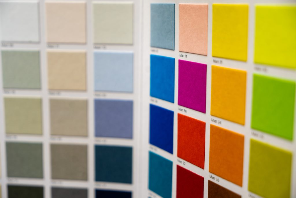 Te ayudamos a elegir colores para tu casa.