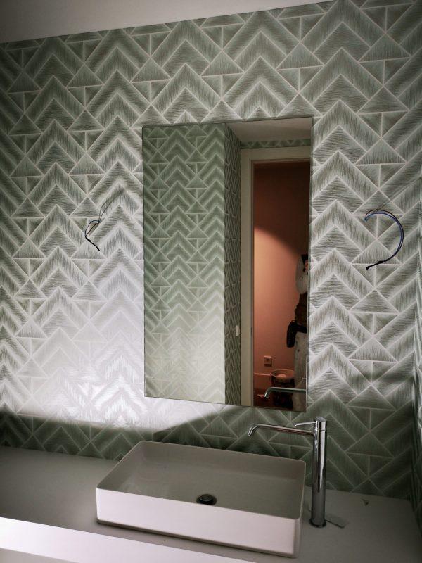 Empapelado cuarto de baño